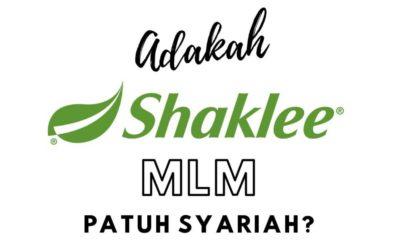 Shaklee MLM Patuh Syariah?