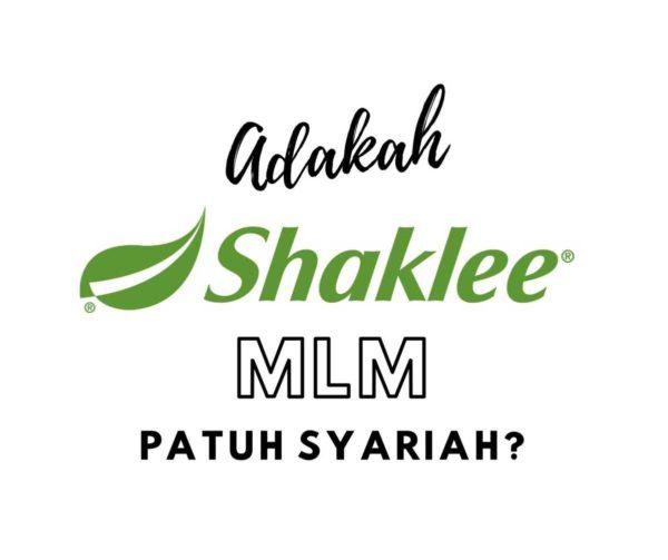 shaklee mlm patuh syariah