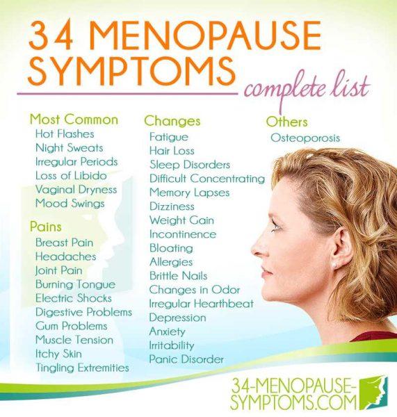 tanda menopause