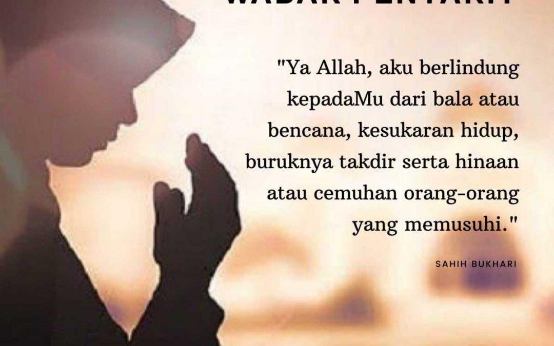 Doa Minta Dijauhkan Wabak Penyakit