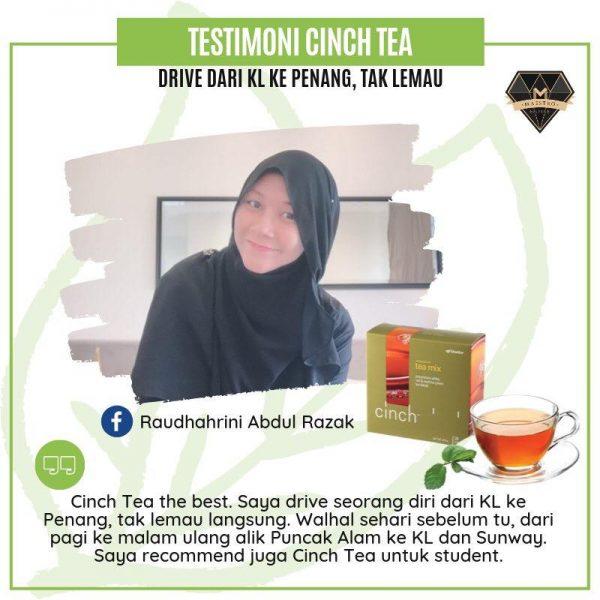 cinch tea shaklee