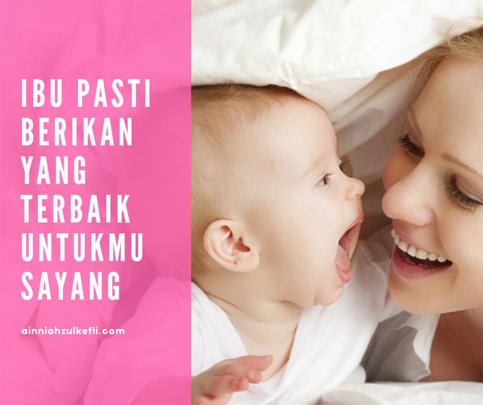 Cara Banyakkan Susu Ibu Selepas Bersalin Part 1
