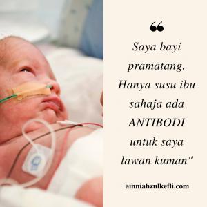penyusuan susu ibu untuk bayi pramatang