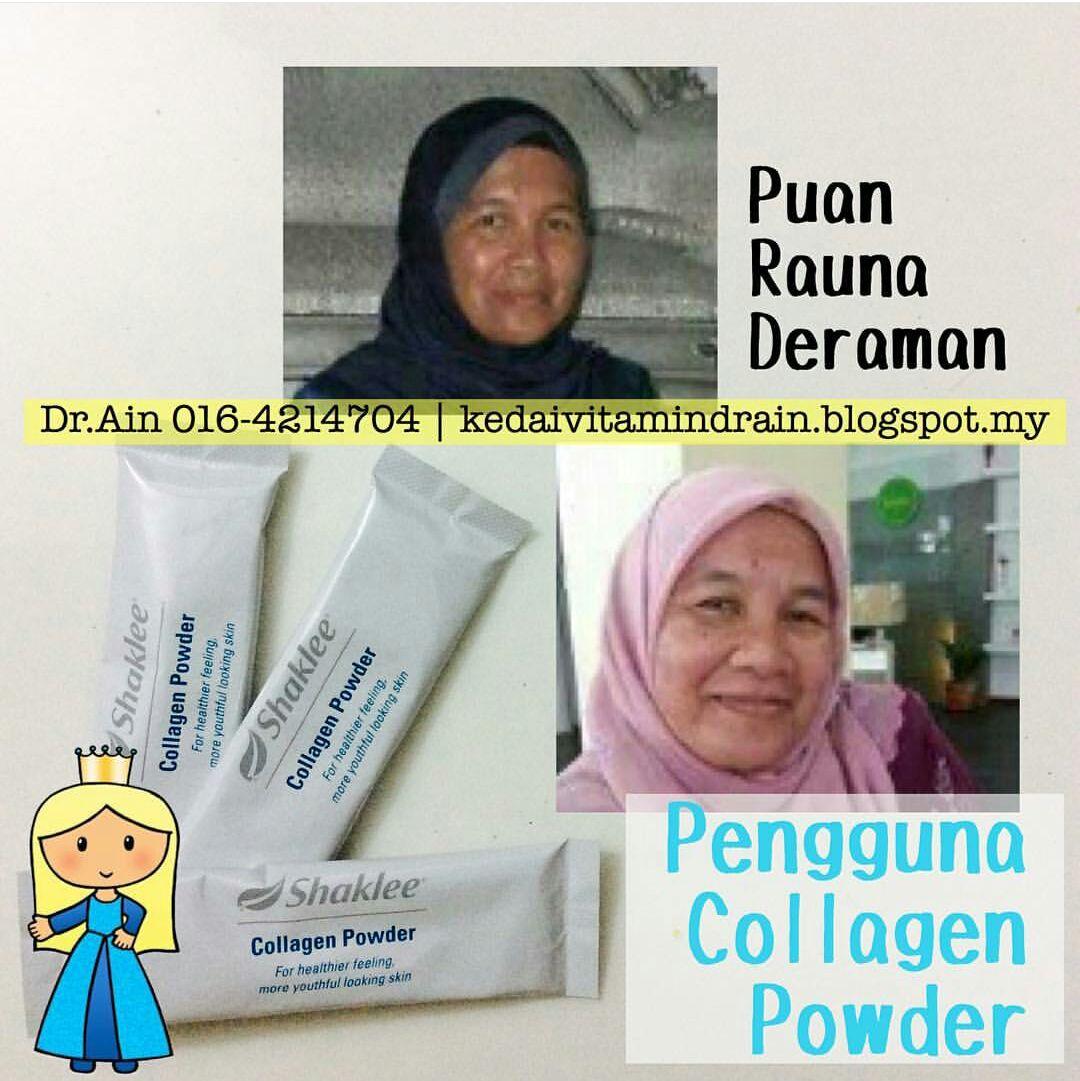 testimoni pengguna collagen powder shaklee