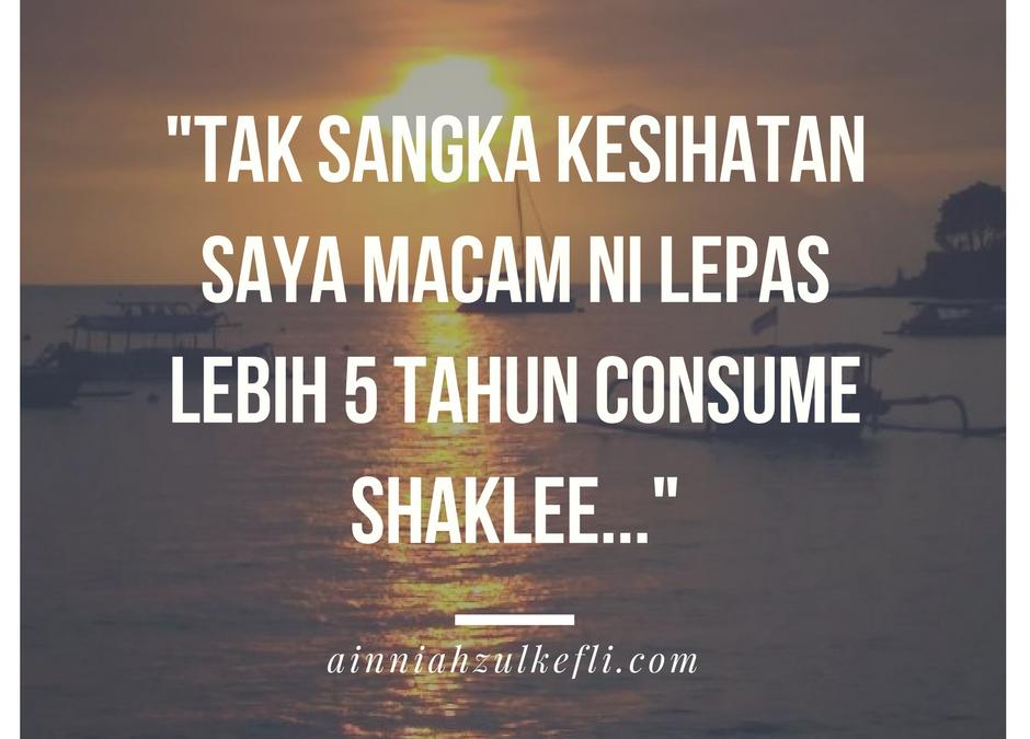 Shaklee Bahaya Untuk Kesihatan Betul Ke?