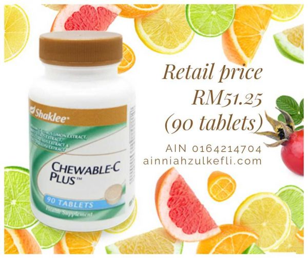 chewable vitamin c shaklee