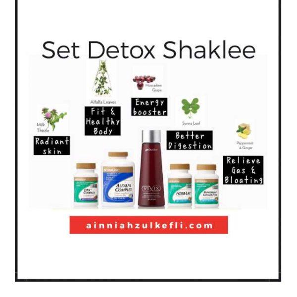 detox cara shaklee