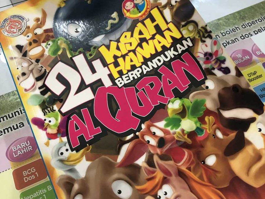 Review Buku Kisah Haiwan Dalam Al-Quran