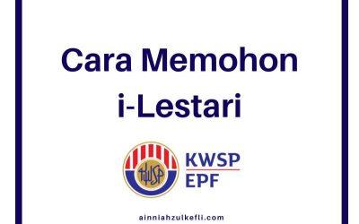 Cara Mohon iLestari KWSP