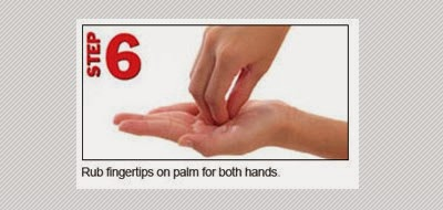 7 langkah cuci tangan yang betul