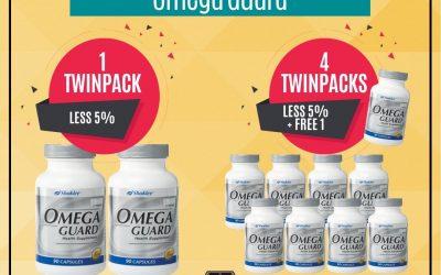 Promosi Omega Guard dan Zinc Complex
