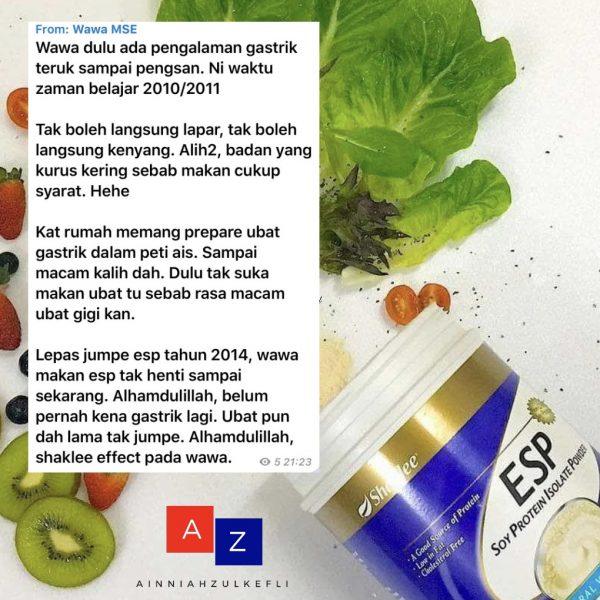 suplemen untuk pesakit gastrik