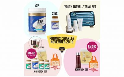 Promosi ESP Shaklee, YOUTH, Zinc Complex