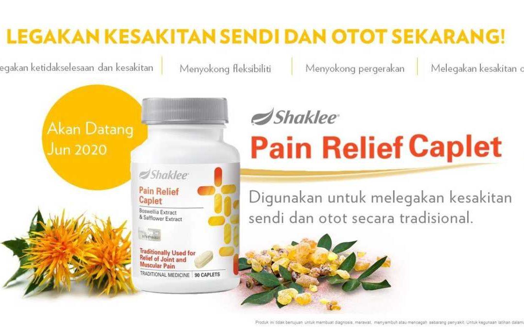 Pain Relief Caplet, Suplemen Sendi dan Otot