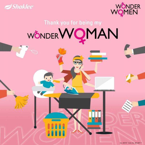 shaklee untuk wanita
