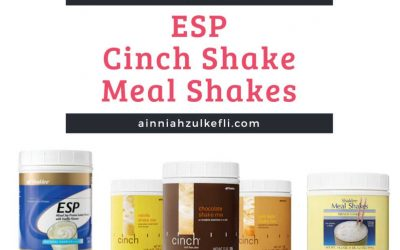 Meal Shakes, Cinch dan ESP Shaklee