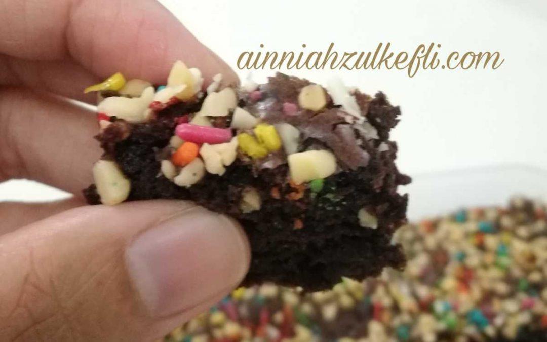 Resepi Mudah Brownies Kedut Sukatan Cawan