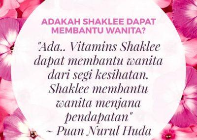 Shaklee untuk wanita 3