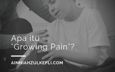 "Anak Sakit Kaki – Apa Itu ""Growing Pain""?"