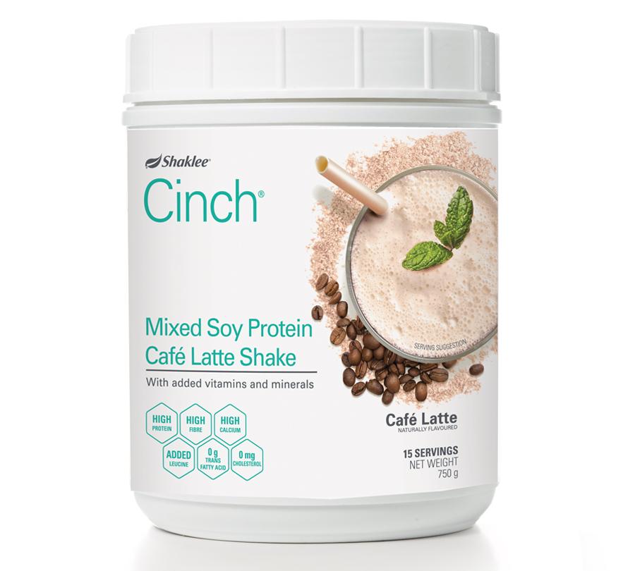 cinch shake latte shaklee