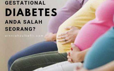 Diabetes Semasa Hamil, Anda Salah Seorang?