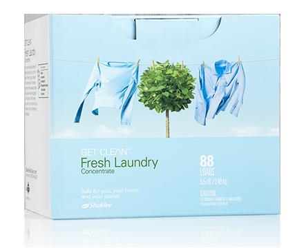 fresh laundry shaklee