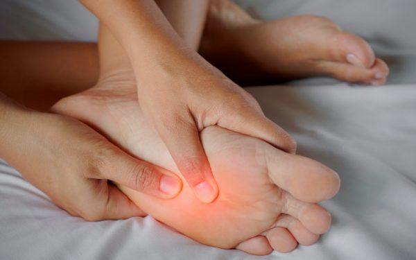 hilangkan sakit kaki