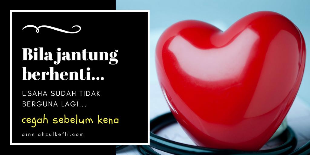 tips untuk jantung sihat