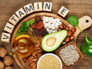 kebaikan vitamin e